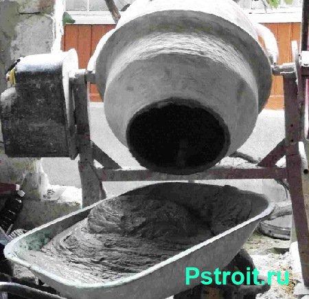 Бетонная смесь и бетонные работы